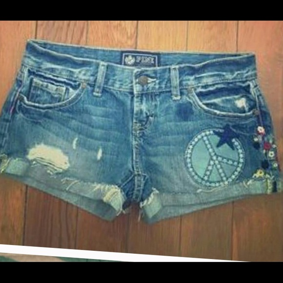 PINK Victoria's Secret Pants - PINK Victoria's Secret Jean Shorts